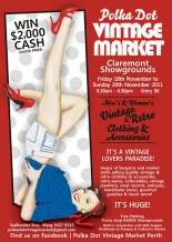 C - Polka Dot Vintage Market November 2011 Flyer A5