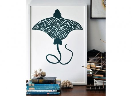 Banquet Print - Eagle Ray