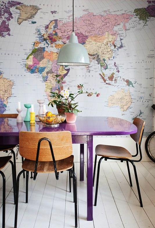 Map Dining Room